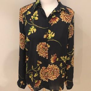 Cabi Daisy Button Front Blouse